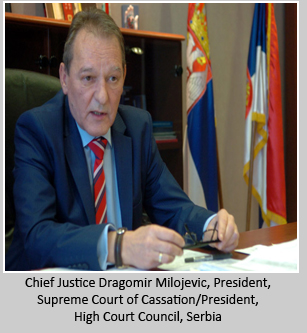 Chief Justice Dragomir Milojevic